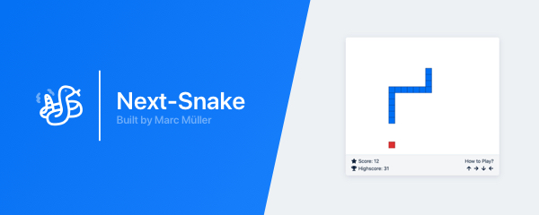 Next-Snake: Minimal Snake browser game