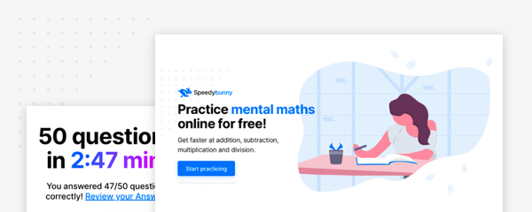 Speedybunny: Practice mental maths online for free!